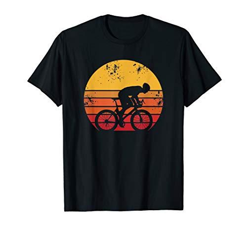 Rennrad Fahrrad Biker Triathlon - Vintage Retro T-Shirt