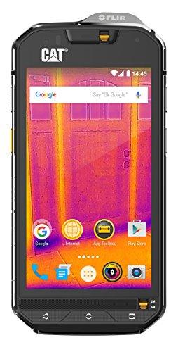 CAT 77333 S60 Outdoor Smartphone (11,9 cm (4,7 Zoll), Wärmebildkamera, Dual-SIM, 13Megapixel,32GB Speicher, 3GB RAM, Android Marshmallow) schwarz