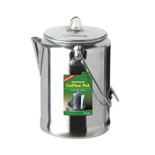 Aluminium Percolator-Kaffee-Kanne