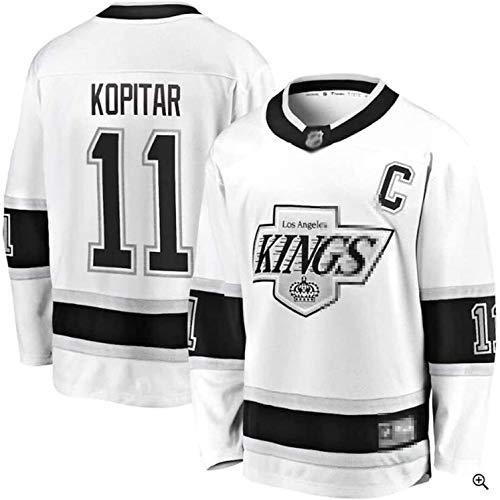 Kings Trikot # 11 Kopitar # 99 Gretzky # 32 Schnelles Trikot Eishockey Training Uniform Sporthemd (Color : 11, Size : XL)