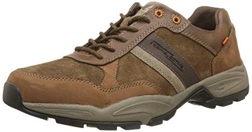 camel active Evolution, Herren Low-Top Sneaker, Braun (timber/taupe 01), 46 EU (11 UK)