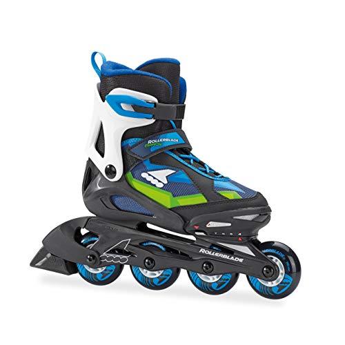 Rollerblade Kinder Inlineskates Arrow, Jungen, 07744600 774 225, schwarz/blau, 36
