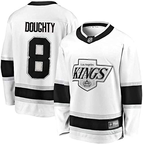 Kings Trikot # 11 Kopitar # 99 Gretzky # 32 Schnelles Trikot Eishockey Training Uniform Sporthemd (Color : 8, Size : L)