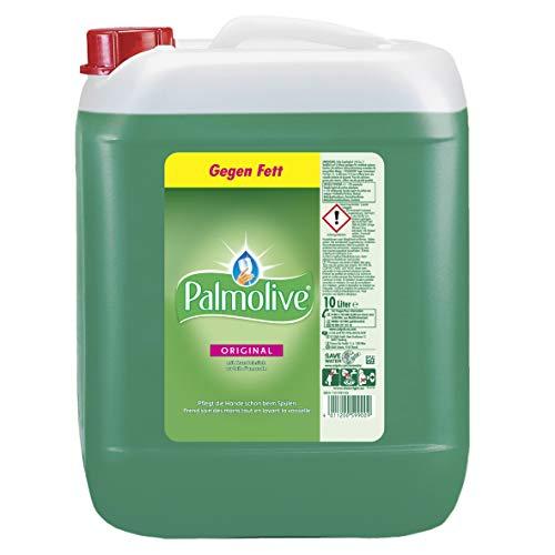 Palmolive Geschirrspülmittel Original, 10 l - Spülmittel mit hoher Fettlösekraft für strahlend sauberes Geschirr, sanft zu den Händen