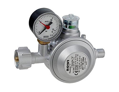ROWI Gasdruckregler mit doppelter Überdrucksicherung 3 03 02 0002; HGD 1/2