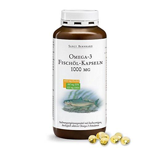 Sanct Bernhard Omega-3-Fischöl-Kapseln 1000 mg