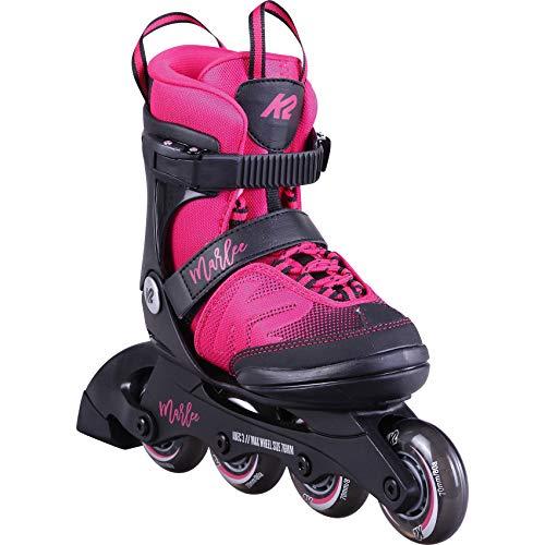 K2 Skates Mädchen Inline Skate Marlee — pink — M (EU: 32-37 / UK: 13-4 / US: 1-5) — 30D0220