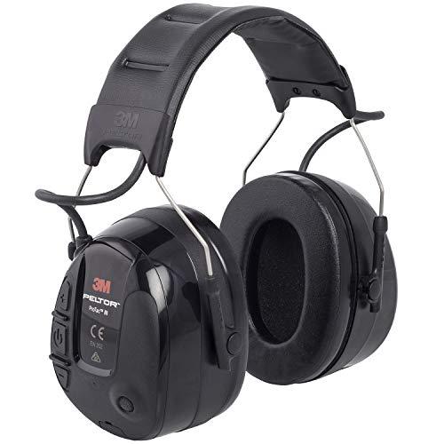 3M Peltor MT13H221A ProTac III Gehörschutz-Headset, Kopfbügel, Schwarz