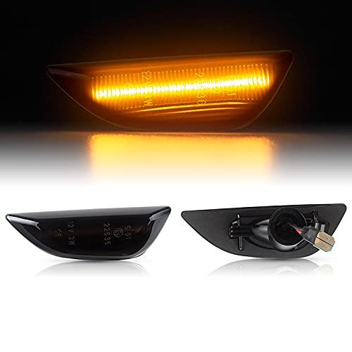 LED SEITENBLINKER passend für OPEL Mokka   Mokka X   Chevrolet TRAX   ab 2012   SCHWARZ