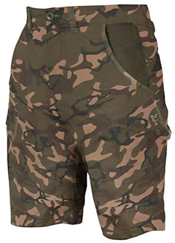 Fox Camo Shorts - Kurze Angelhose für Karpfenangler, Größe:XL