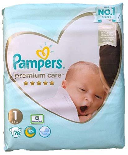 NEU 78 PAMPERS PREMIUM CARE WINDELN GR. 1, 2-5 KG, NEW BABY, NEWBORN