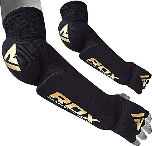 RDX Unterarmschutz Ellbogenschützer Kampfsport Ellbogenbandagen Ellenbogen Sehnenentzündungen Handschuhe Compression (MEHRWEG)