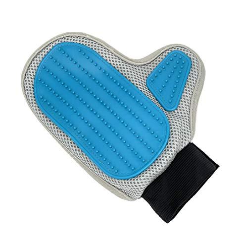 vendify® Premium Fellpflege-Handschuh Haustier Bürste Grooming Handschuh für Fell, Katzen-Haare, Hunde-Haare und Pferde-Haare entfernen