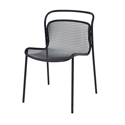 Emu Modern Stuhl - schwarz