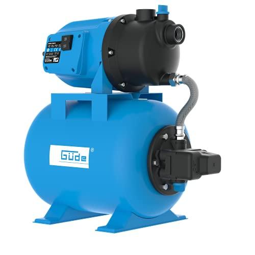 """Güde 94667 HWW 3100 K Hauswasserwerk (600W Motorleistung, 3100 l/h Fördervolumen, 24l Kessel, 1"""" IG Anschlussgewinde)"""
