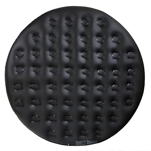 Arebos Thermoabdeckung für Whirlpools | Ø140cm | schwarz | Whirlpoolzubehör für Pools mit Ø140cm