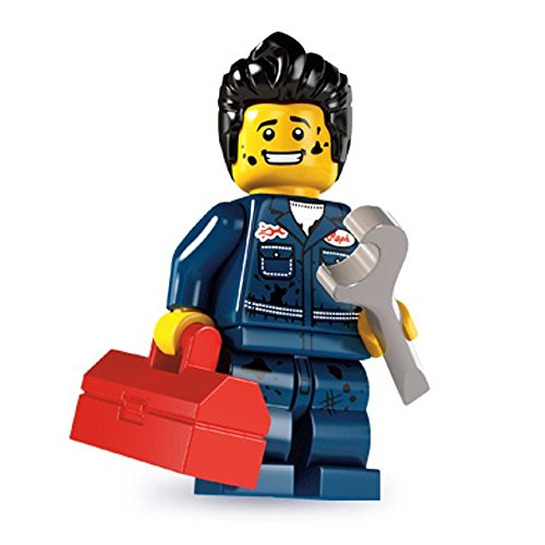 LEGO 8827 - Minifigur Mechaniker aus Sammelfiguren-Serie 6
