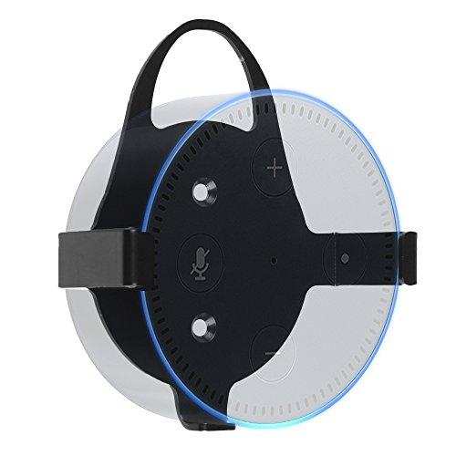 Fintie Ständer für Amazon Echo Dot (nur für Echo Dot 2. Generation geeignet) - Lautsprecher Ständer Wandhalterung Guard Halterung für All New Amazon Echo Dot 2. Generation,