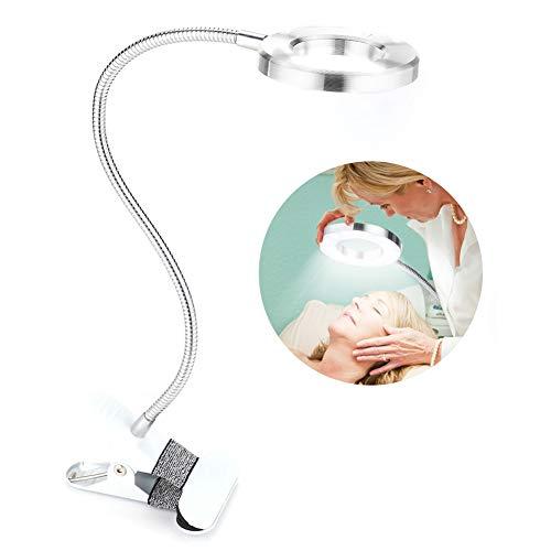Tätowierung führte helle Lampe, USB-Kreis-Make-uplampen-Augenbrauen-Lippen-Tätowierungs-Schönheits-Salon-Desktop-Kosmetik-Lampe mit Klipp