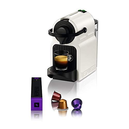 Krups Nespresso Inissia XN1001 Kapselmaschine   kurze Aufheizzeit   kompaktes Format   Kaffeemenge einstellbar   Direktwahltaste   automatischer Kapselauswurf   19 Bar