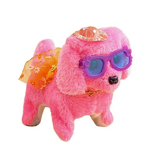 Pageantry Elektrischer Spielzeughund Elektronische Haustiere Hund Kids Walking Toy Pet Interaktiv Elektronisch Haustier Spielzeughund Spielzeug Hund Elektronisch