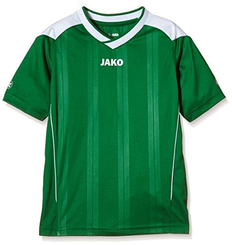 JAKO Kinder Fußballtrikots Copa KA, Sportgrün/Weiß, 176