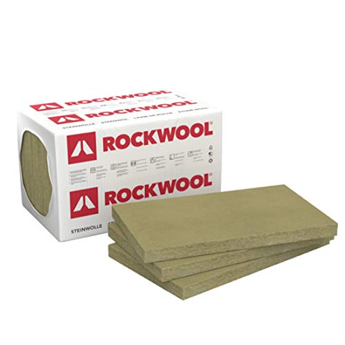 Rockwool Sonorock Trennwandplatte 80mm 3,75m² Dämmplatte Steinwolle Trockenbau Dämmung Ständerwerk