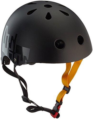 Rollerblade Unisex– Erwachsene Downtown Helme, Black/Yellow, L