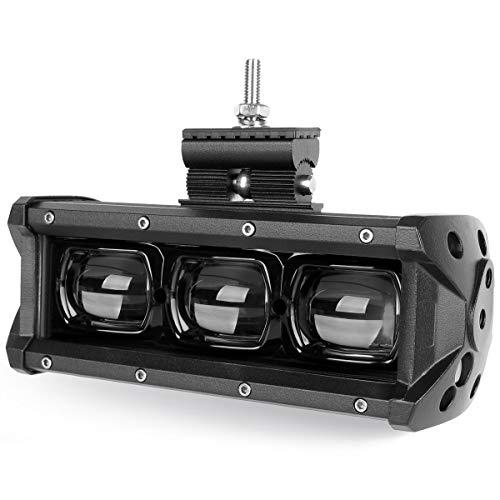 6D Lens Led Light Bar 8 Inch 30W 4x4 Offroad For Car 4WD Truck SUV ATV Motorcycle Off road 12V 24V Work Driving Barra Lights