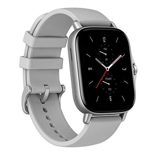 Amazfit GTS 2 Smartwatch Fitness Armbanduhr mit Bluetooth-Anruf, Sportuhr mit 90 Sportmodi, Blutsauerstoffsättigungsmesser, 3GB Musikspeicher