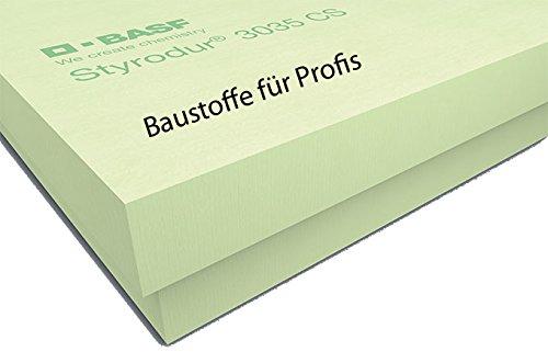 1 Pack original BASF Styrodur 3035CS 30mm 10,50m² XPS WLG035