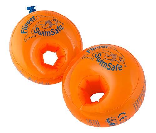 Flipper Swimsafe 77840117 - Schwimmflügel, für Kleinkinder ab 12 Monaten, mit unzerbrechlichem PE-Schaumkern, sichere Schwimmhilfe im Hallenbad, Freibad, im Pool, am Meer und See