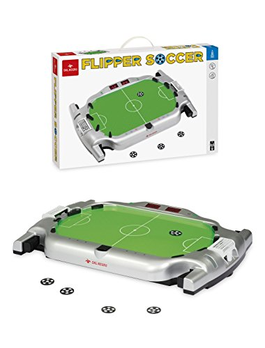 Dal Negro 8001097538980 Flipper Soccer Sportspielzeug für den Tisch 989, Mehrfarbig