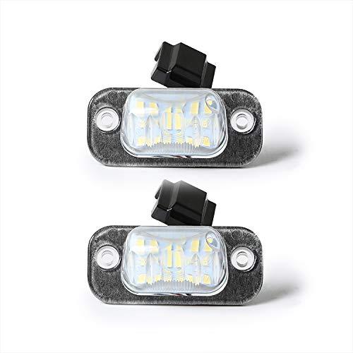 LED Kennzeichenbeleuchtung Kennzeichenleuchte kompatibel mit Golf 3 Polo 6N Ibiza Cordoba