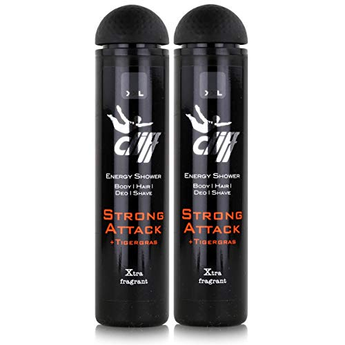 Cliff Energy Shower Strong Attack 300ml (2er Pack)