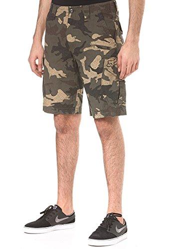 Fox Slambozo Herren Cargo-Shorts, Standard-Passform, 55,9 cm, Segeltuch, Militär-Camouflage, Größe 28