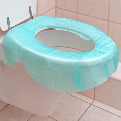Reer WC Cover 3 Stk. - Einweg Toilettenauflage Hygiene Auflage Baby Toilette Toilettenbrille Klobrille Notfall Camping Festival