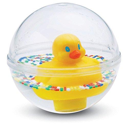 Fisher-Price 75676 - Entchenball Badespielzeug und Baby Spielzeug gelb für Baby und Kleinkinder, ab 3 Monaten