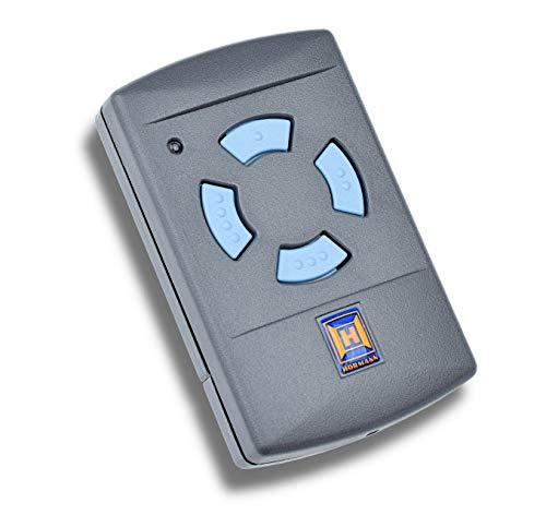 Hörmann Handsender HSM 4, Frequenz 868,30 MHz, Sender für Garagentore mit 4 Tasten, Codierung: selbstlernend, Batterietyp: 12 V, 23A (im Lieferumfang enthalten) 0437442