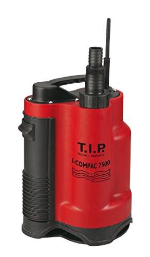 T.I.P. Schmutzwasser Drainage-Tauchpumpe I-Compac 7500, bis 7.500 l/h Fördermenge