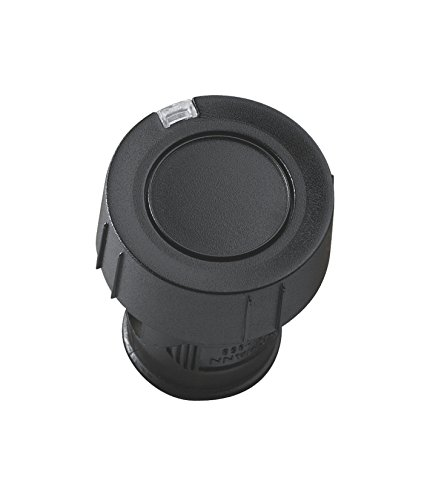 Hörmann Handsender HSZ1 868-BS, praktischer 1-Tasten-Garagentoröffner, Funkfernbedienung mit BiSecur-Funktechnik, schwarz, Art.-Nr. 436779