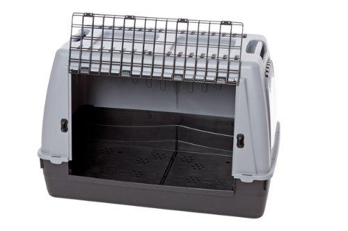 Karlie Transportbox Cargo Pro L: 77 cm B: 43 cm H: 51 cm grau Nicht für Limousinen geeignet