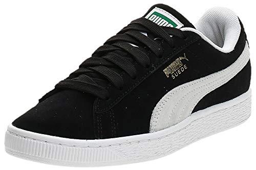 PUMA Herren Suede Classic+ Sneaker, Schwarz (Black-White), 39 EU