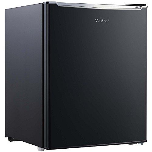 VonShef 35L Mini-Gefrierschrank mit wechselbarem Türanschlag, Temperaturregelung, Fächern & Ablagegitter – Platzsparend ideal für kleine Küchen mit begrenztem Platz - Energieeffizient Energieklasse A+