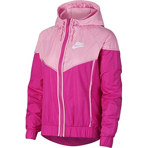 Nike Sportswear Sportswear Windrunner Damen pink/weiß, L
