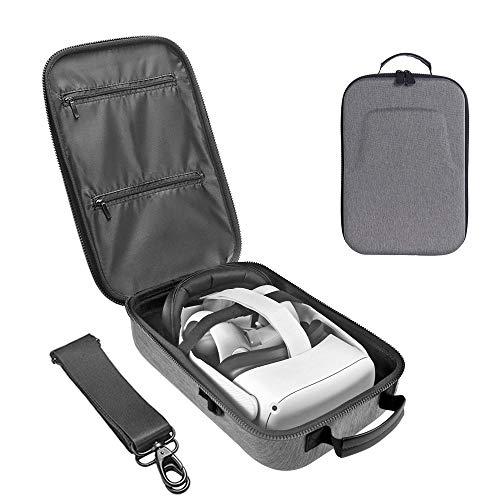 Tragetasche für Oculus Quest 2/Oculus Quest, Hart Portable Wasserdicht Stoßfest Schutzhülle Hülle Premium Travel Bag Cover Case Schutzhülle