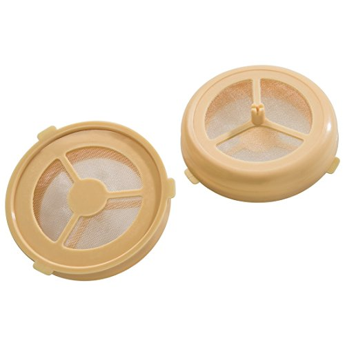 Xavax Dauerpad 2er Set geeignet für Philips Senseo und baugleiche Kaffeepadmaschinen (für losen Kaffee oder Tee) spülmaschinengeeignet