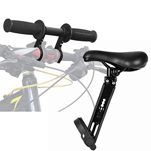 hooks Kinderfahrradsitz Für Mountainbikes, Vorne Montierte Fahrradsitze mit Lenkerbefestigung, Tragbarer Abnehmbarer Vorneliegender Fahrradsitz für Kinder von 2-5 Jahren (bis zu 48 Pfund)