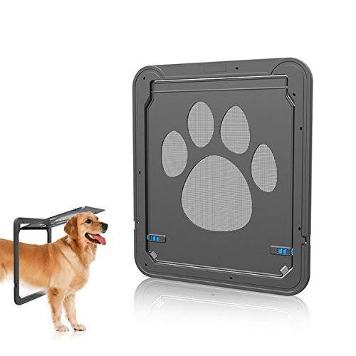 PETCUTE katzenklappe für fliegengittertür hundeklappe katzentüre Hundetür für Katze und Kleinen Hund