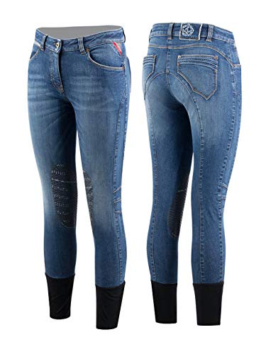 Animo Damen Reithose Jeansreithose Modell Noir Neuheit (D34/I40)